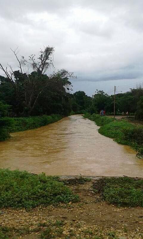 Alrededor de 35 familias se encuentran afectadas con las inundaciones