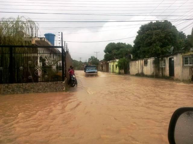 En el sector Valle de Sharon las aguas de lluvia afecta a 56 familias