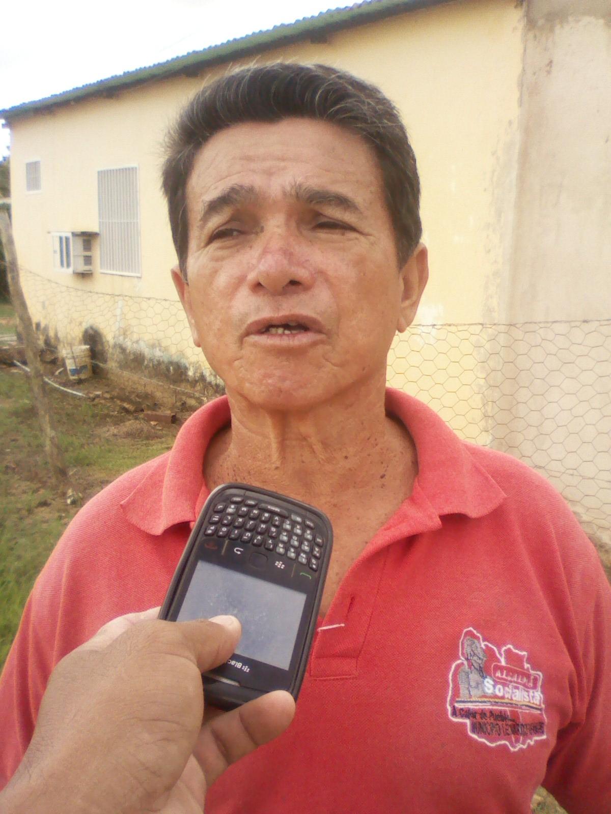 Luis Seijas le hizo el llamado a los entes municipales y regionales para que tomen en cuenta el sector y arreglen la vialidad y el alumbrado