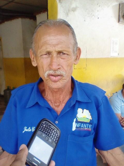 Julio Cesar Camacaro expresó que el sector transporte está afectado por la falta de gasolina