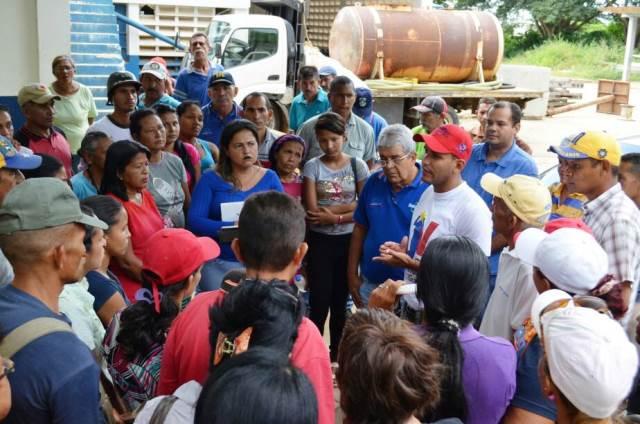 Autoridades informaron sobre la situación a los representantes de los diferentes consejos comunales de Valle de la Pascua