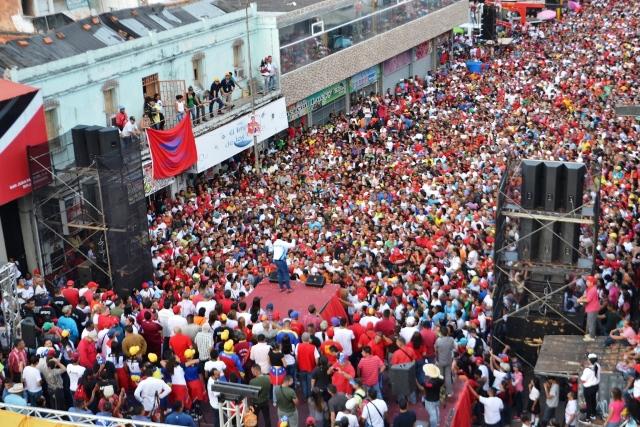 """2.""""Venceremos porque el pueblo venezolano es un pueblo bolivariano"""" manifestó el estadista José Vásquez"""