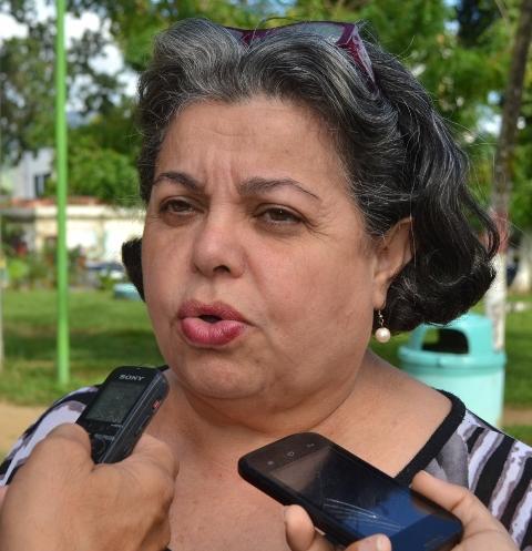 Gisela Toro de Lara expresó que dichas actividades se van a extender hasta el 30 de octubre