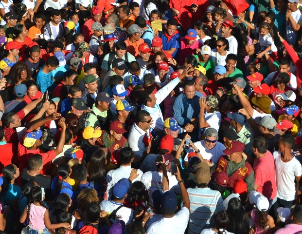 6.José Vásquez hizo la misma ruta que realizó Hugo Chávez en sum última visita a San Juan de los Morros