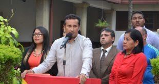 El Gobernador José Vasquez anuncio el inicio y conclusión de obras en Guárico