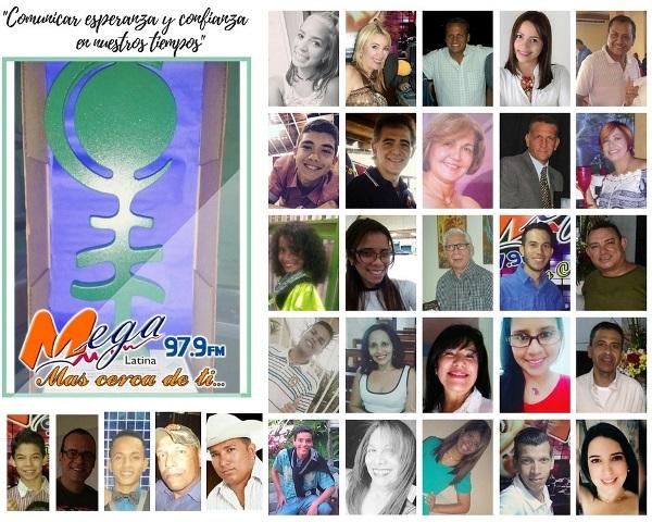Equipo de Mega Latina 97.9 fm galardonado con el premio Monseñor Pellin Edición XV