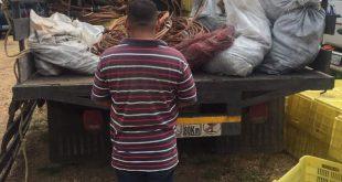 Pasó a la orden del Ministerio Público por transportar material estratégico sin permiso