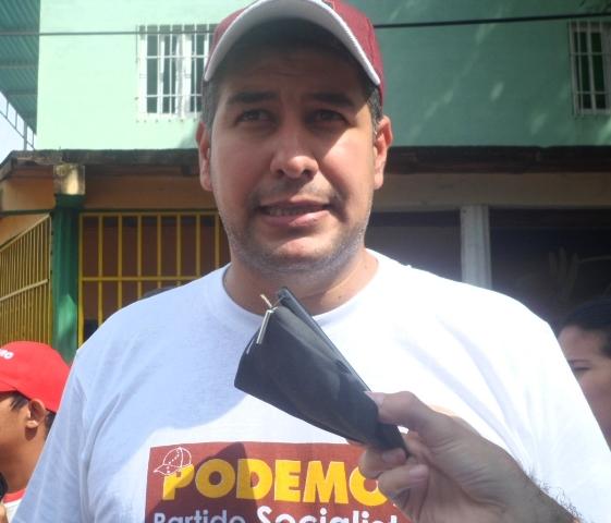"""Enyel Montilla """"Nosotros nos encontramos en Brisas del Valle para confirmar nuestro respaldo con José Vásquez"""""""