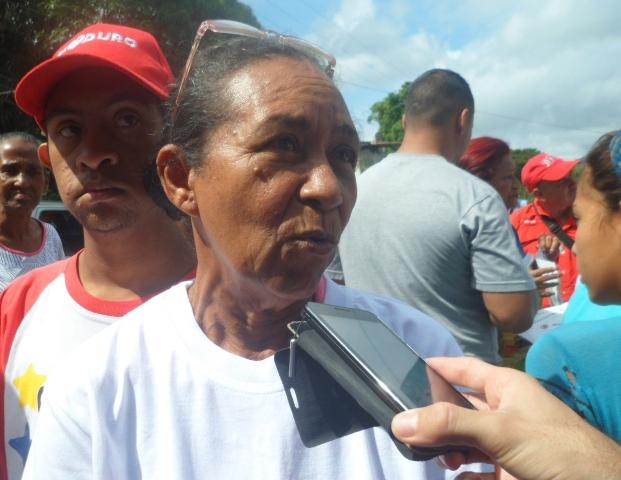 """Delmira Manzano, """"le decimos al candidato Vázquez que cuente con nosotros para cualquier lucha y situación"""""""