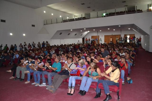 Trabajadores y trabajadoras ratificaron su compromiso en la continuidad de la Revolución