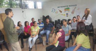 Personal del Sistema y la Foseg presentes en el taller de oratoria