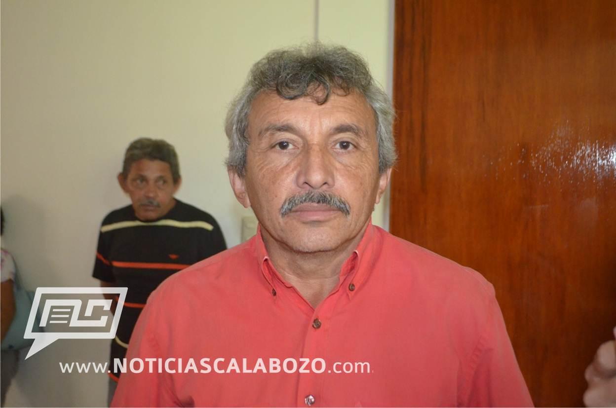 Francisco Graterol, candidato por el Psuv en el municipio Francisco de Miranda.