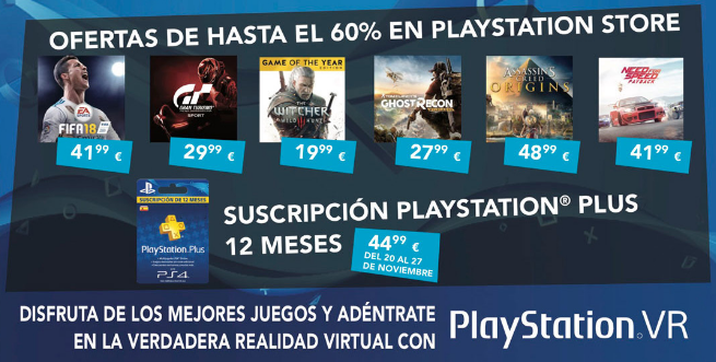 PlayStation offers for Black Friday