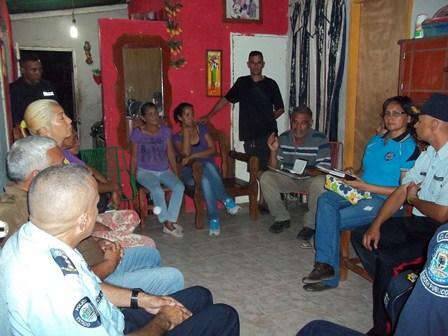 Participaron vecinos de la comunidad de Camoruquito