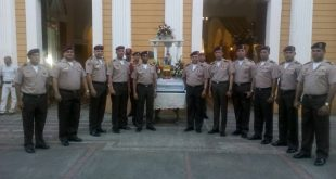 Rindieron homenaje a la patrona de la GNB, Virgen de la Chinita