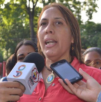 Mayerlin Colmenares, candidata por el Psuv en el municipio Juan German Roscio