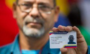 Se activó el pago electrónico a través del Carnet de la Patria