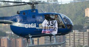 """""""para que el pueblo al verlo por los cielos de Caracas sienta seguridad y no miedo""""."""