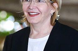Luisa Ortega Díaz fue invitada por el Vaticano en condición de fiscal de Venezuela