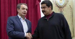 Para planificar dialogo con la oposición, Maduro y Zapatero se reunieron en Miraflores