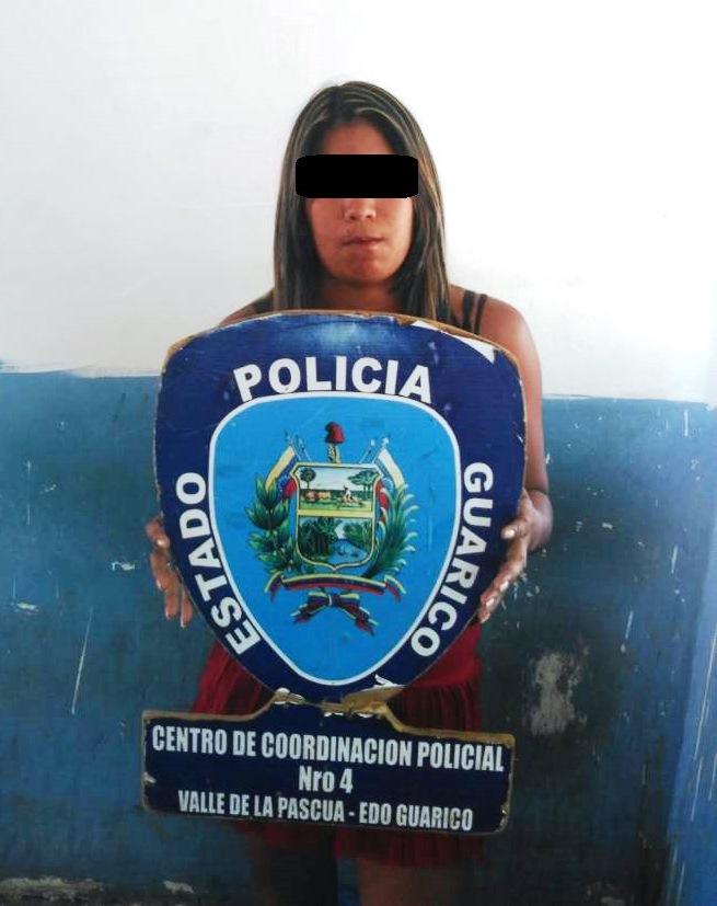 Capturada luego de agredir a una menor de edad en Las Garcitas.