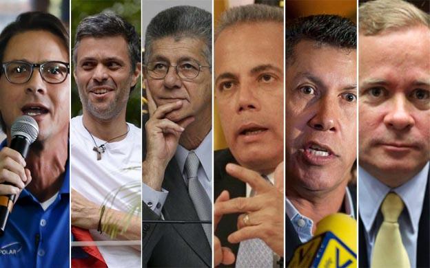 MUD evalúa posibles candidatos presidenciales