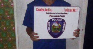 El hombre fue puesto a la orden del ministerio publico por el delito de maltrato infantil