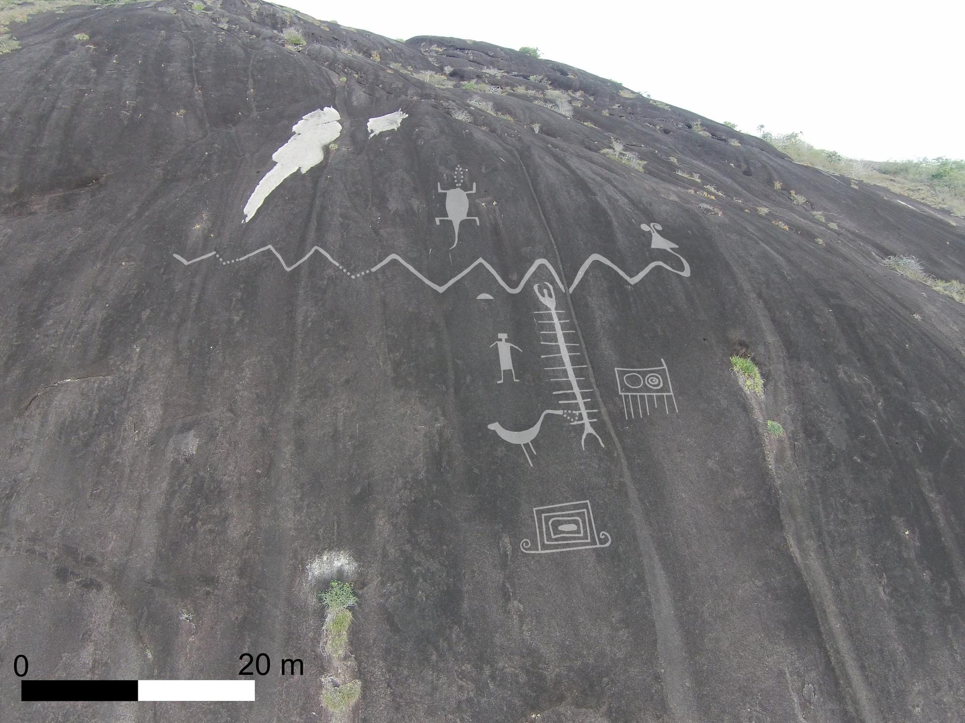 Petroglifos de 2.000 años de antigüedad en Venezuela