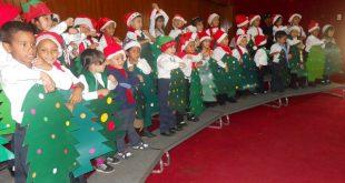 La alegría de la navidad estuvo presente en el concierto