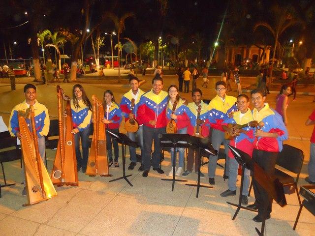 Orquesta Regional Alma Llanera perteneciente al Sistema Guárico