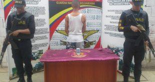 Detenido por el delito de secuestro en Tucupido