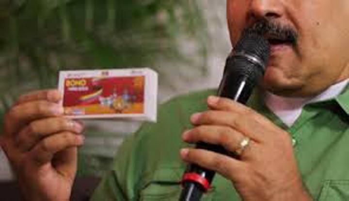 """Venezolanos fueron comprados con bono social """"Niño Jesús"""""""