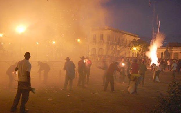 22 personas heridas dejó accidente con pirotecnia en Cuba