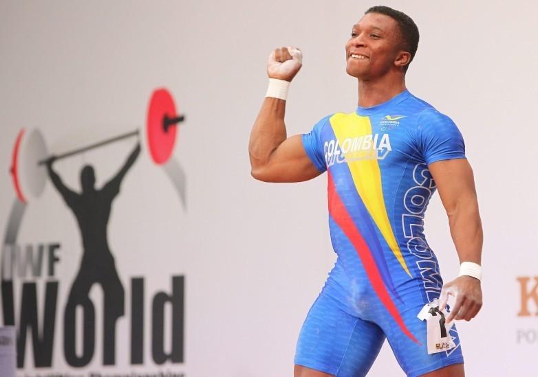 El pesista colombiano Francisco Mosquera es campeón del mundo