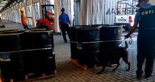 1.300 kilos de cocaína líquida fue decomisado en buque venezolano en Honduras