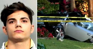 Cuatro años de cárcel a hijo de ex diplomático venezolano que mató a una joven en accidente en Florida