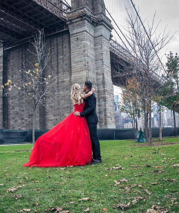 En Nueva York se casó Juan Arango