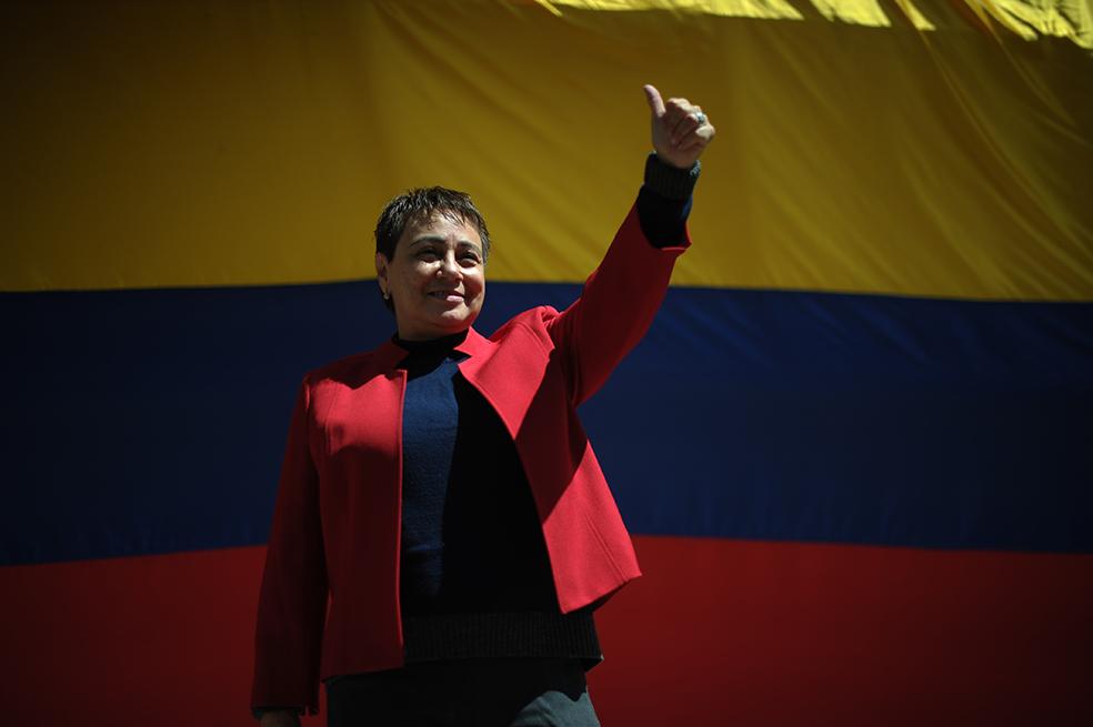 """En su intervención Marta Álvarez dijo que, """"Fue muy difícil y doloroso estar privada de la libertad, pero fue más difícil tener que pagar dos condenas en una"""
