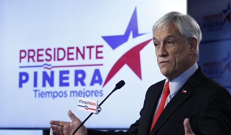 Con un 54% de los votos, Sebastían Piñera gana las elecciones en Chile