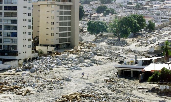 Éste es considerado el peor desastre natural ocurrido en el país después del Terremoto de Venezuela de 1812