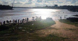Al volcarse lancha en río de Brasil, desaparecen tres venezolanos