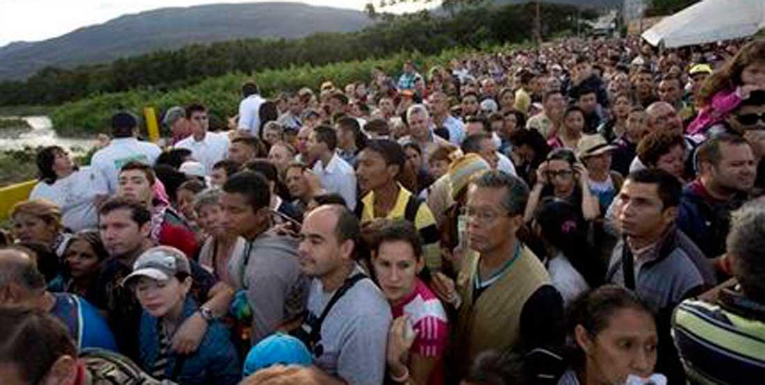 Colombia prevé aumento de migrantes venezolanos hasta enero