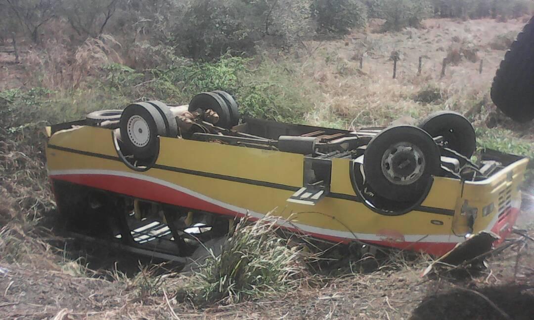En este vehiculo solo resulto lesionada una persona de sexo femenino.