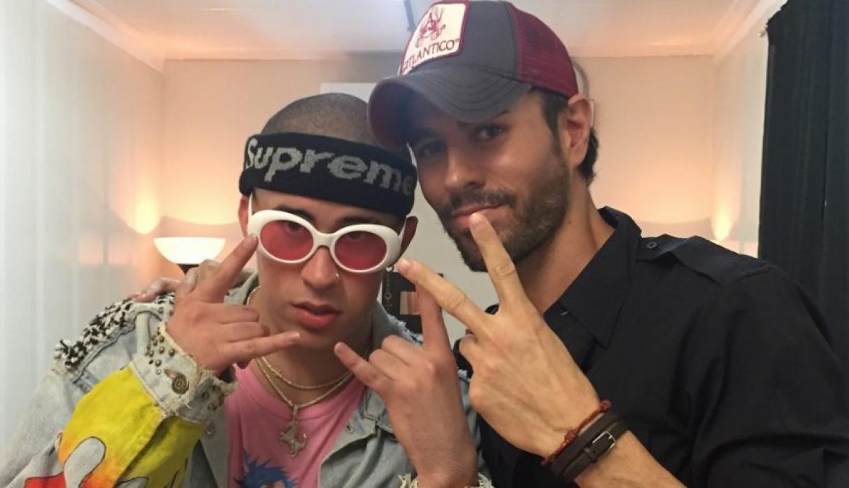 """Enrique Iglesias junto a Bab Bunny estrenan """"El Baño"""""""