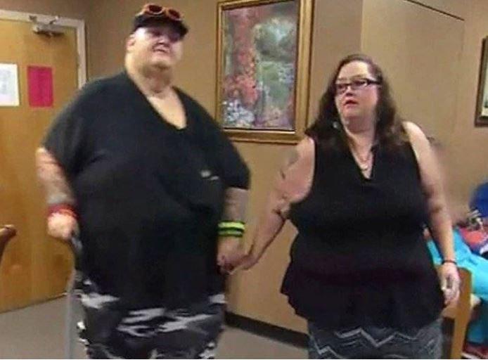 No podían tener sexo por estar obesos morbidos