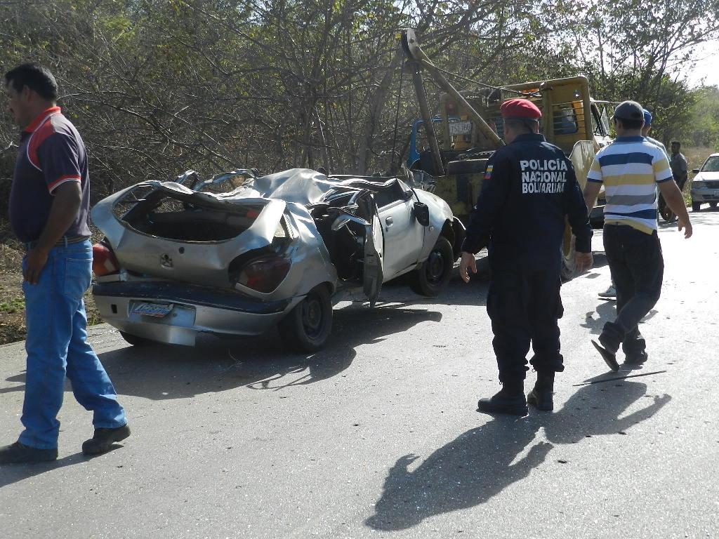 Funcionarios de la PNB a cargo del Comisionado Ruben Montenegro realizaron el levantamiento del accidente.