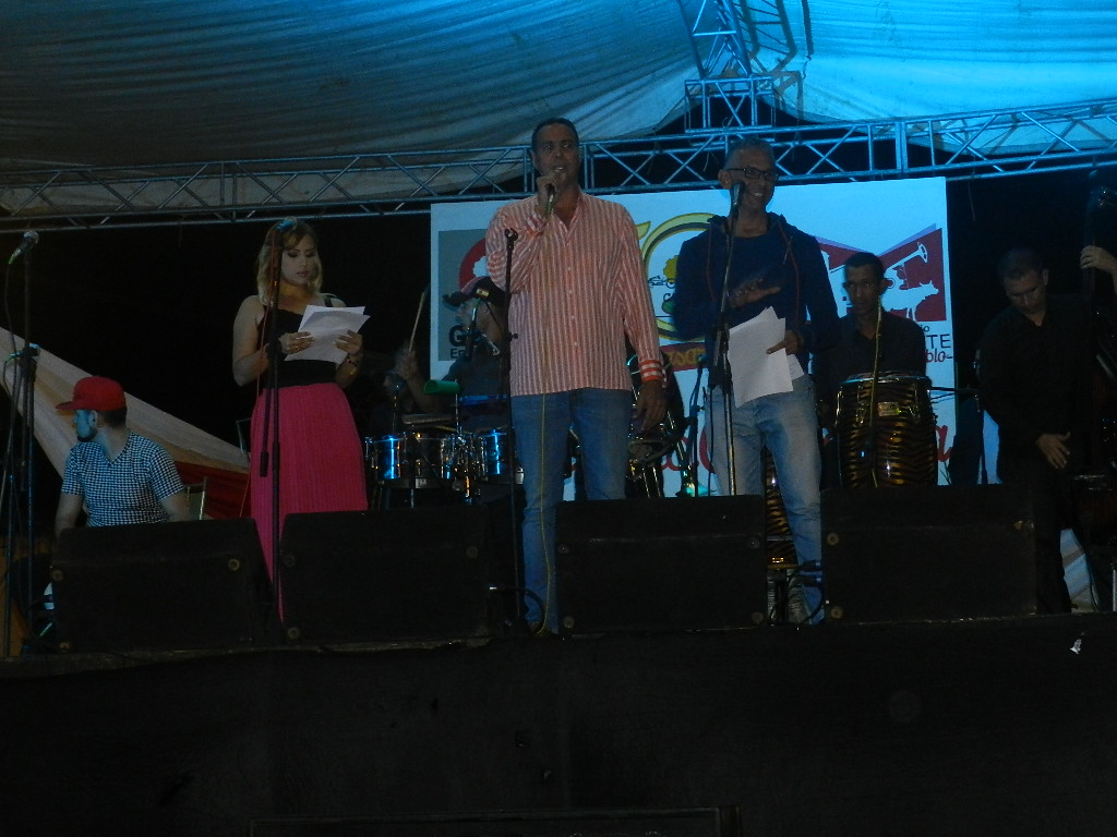 Presidente de la Quincuagésima Ferias de la Candelaria Gustavo Barreto