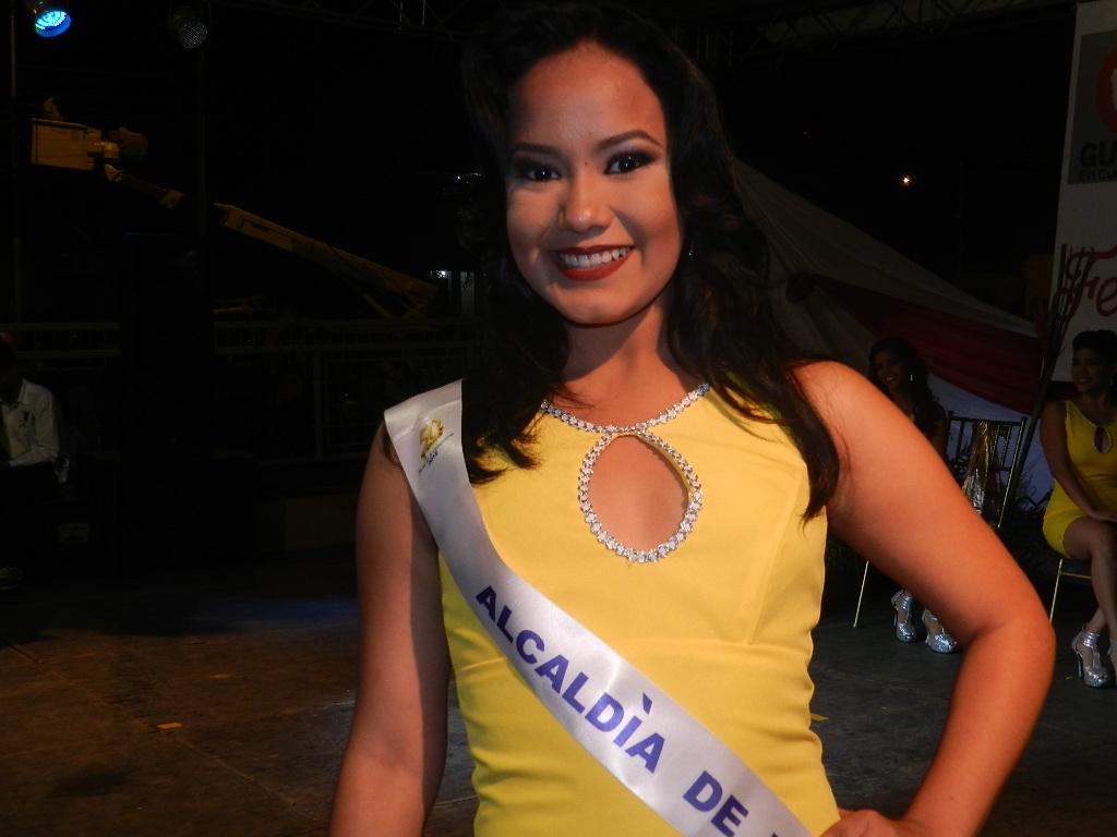 Meliana Birriel de 18 años, con 1.65 de estatura, estudia Medicina en la Unerg y es patrocinada por Alcaldía de Infante.
