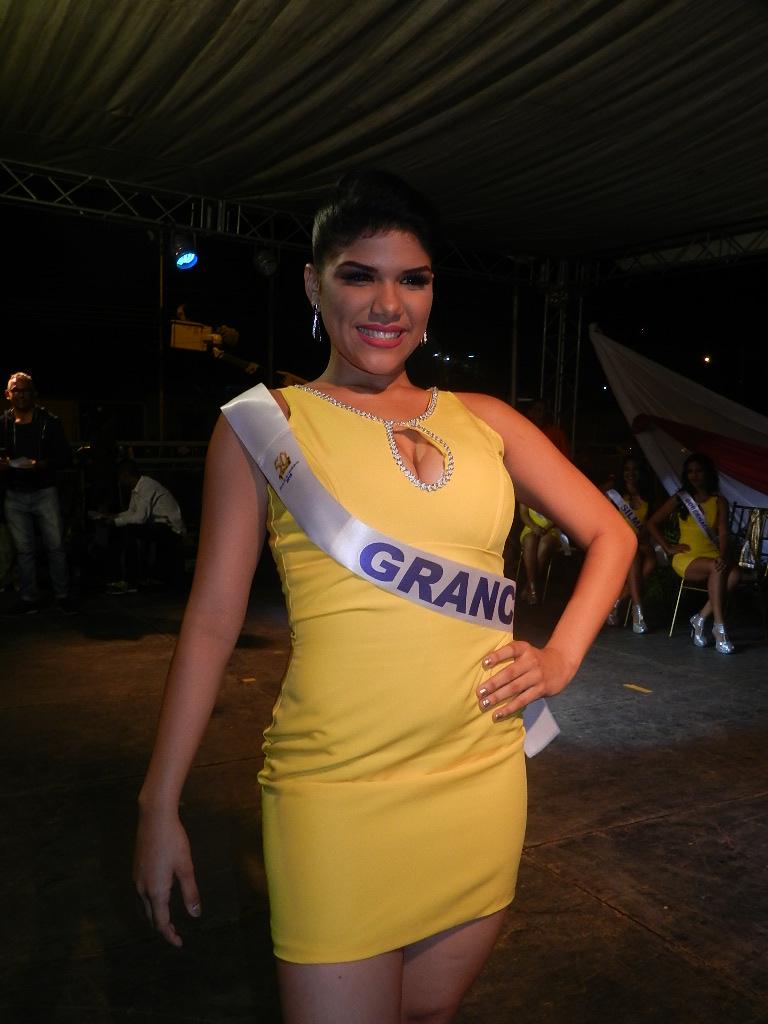 Milwuin Castro, con 20 años, 1.70 de estatura, estudia Economía en la Unerg, le fascina el baile, reside en Carlos Pérez y será patrocinada por Granca.