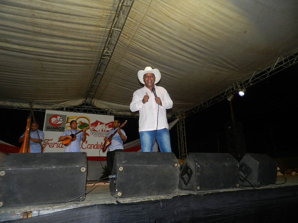 Desde Guayana Isnardo Guaitia